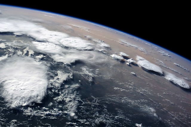 Thunderclouds over Libya