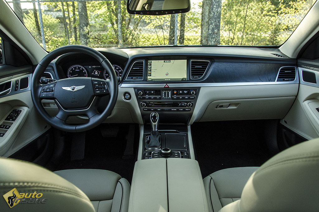 2015 Hyundai Genesis Sedan Interior Hyundai Is Demanding Y Flickr