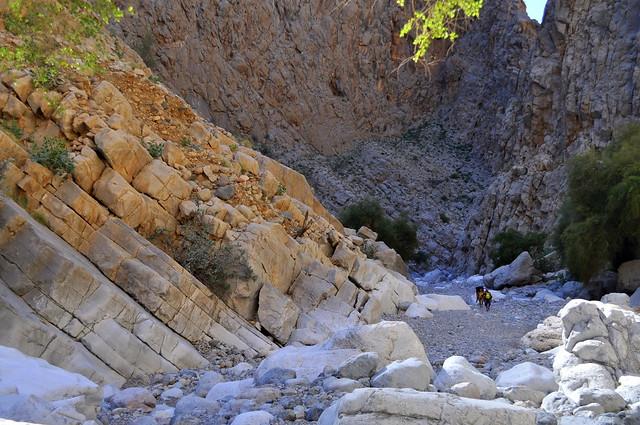 Khubra canyon