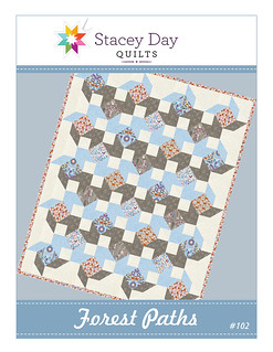 Forest Paths Quilt Pattern
