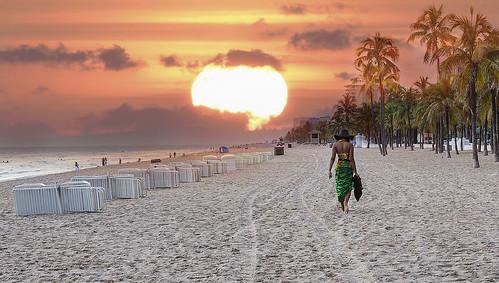 ocean sun beach sunrise sand women florida tropics