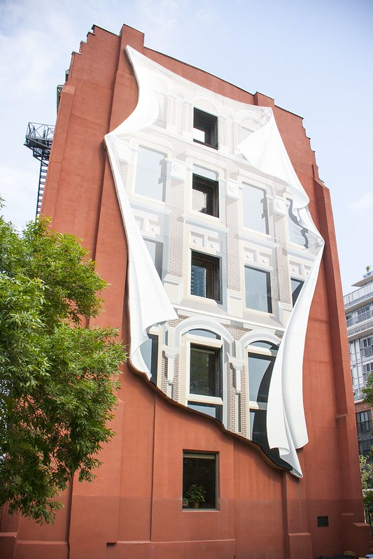 The Flatiron Mural by Derek Besant