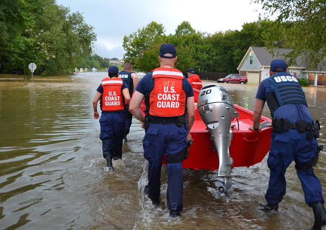 Coast Guard rescues North Mississippi flood victims