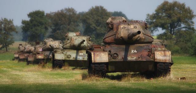 Abandoned M47