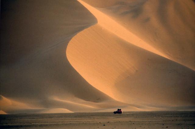 La grand dune - Lada niva - Algeria 1987