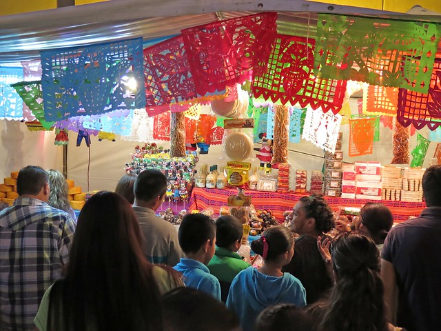 dulces mexicanos stand