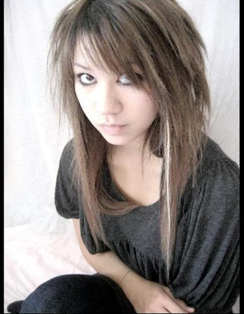 emo hairstyle for girls  gemma louise  flickr