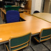 Beech L-shaped desk