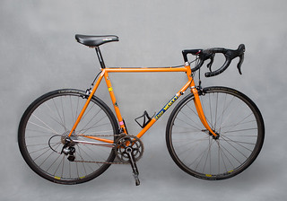 Eddy Merckx Professional Bicycle Frame, Molteni Team colors | by lewong2000