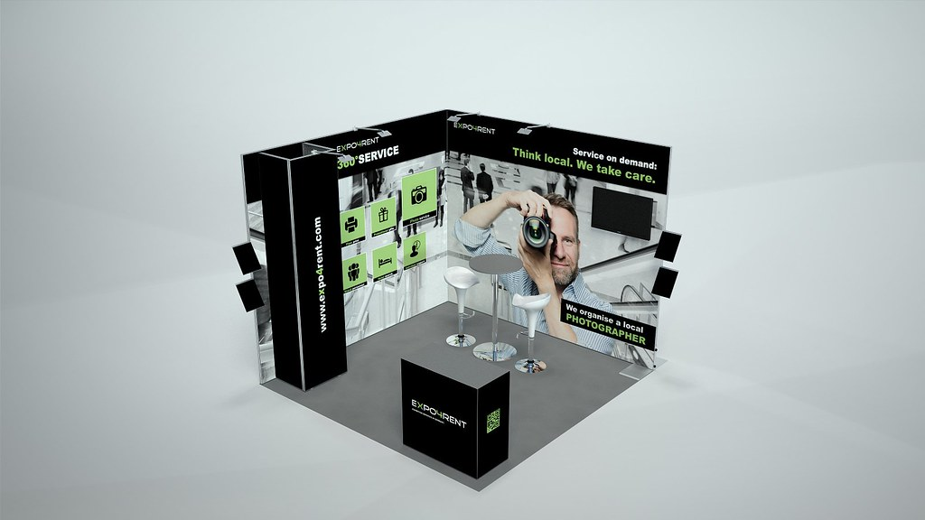 Corner Exhibition Stands Care : Expo rent germany expo cunsult customized booth stands iu flickr