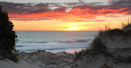ocean sunset sea beach nature water clouds canon indianocean australia calm stuart perth thatcher 60d stuartthatcher