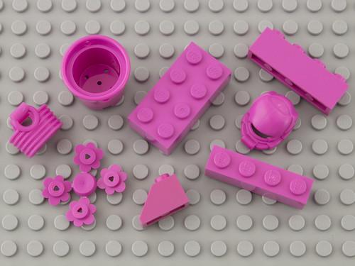 221 Bright Purple / Dark Pink   by Brick Colorstream