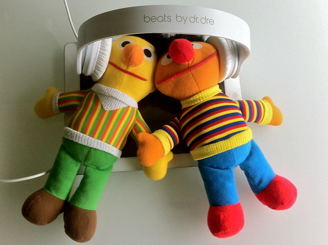 Bert&Ernie made me smile, I hope you get a kick from it as well