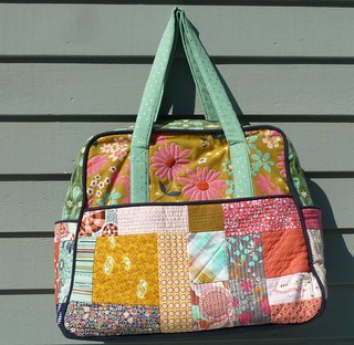 Quilted Melody Miller Weekender
