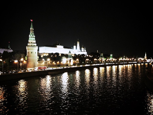 #kremlin in #midnight #moscow #russianmade  #night #winteriscoming