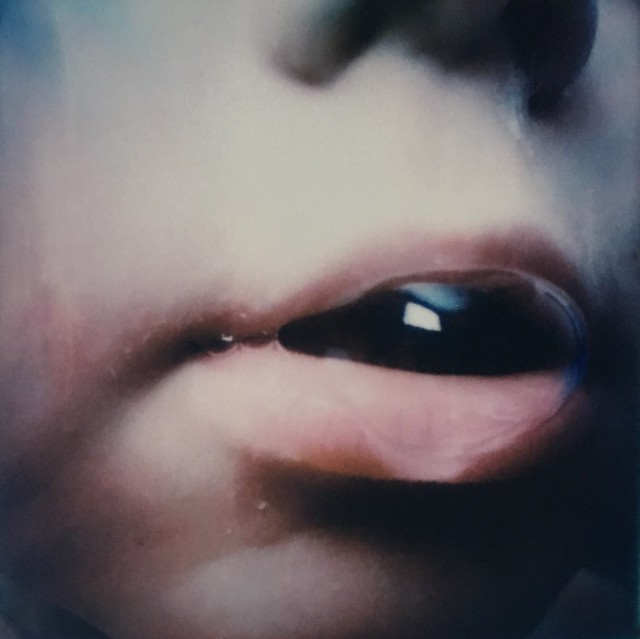 Polaroid Week Day 1 - Bubble Mouth