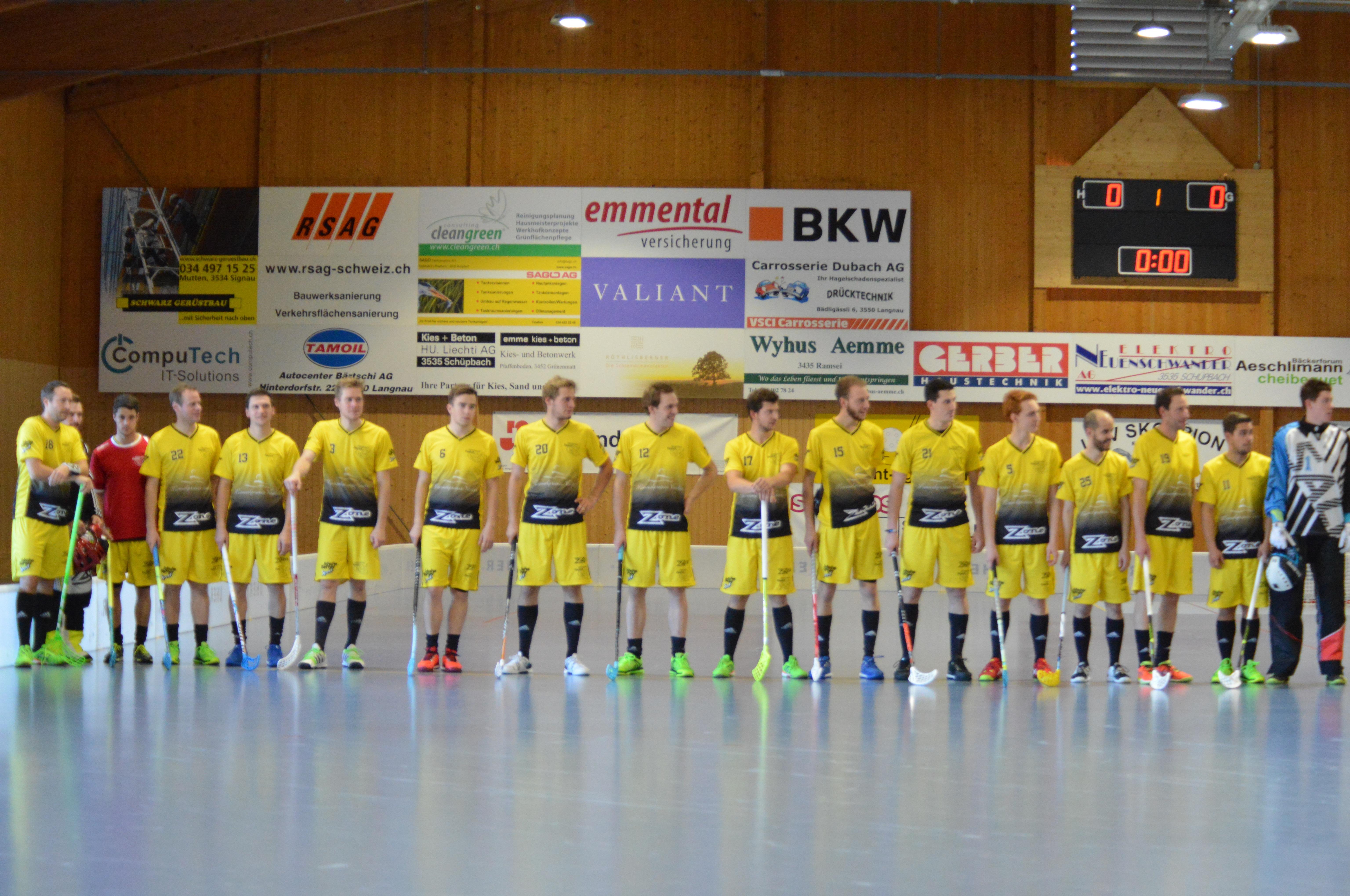 Herren II - Bern Ost Saison 2016/17
