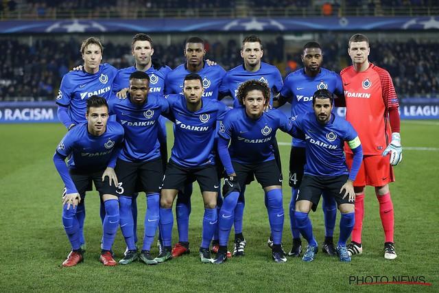 Club Brugge - FC Kopenhagen 07-12-2016