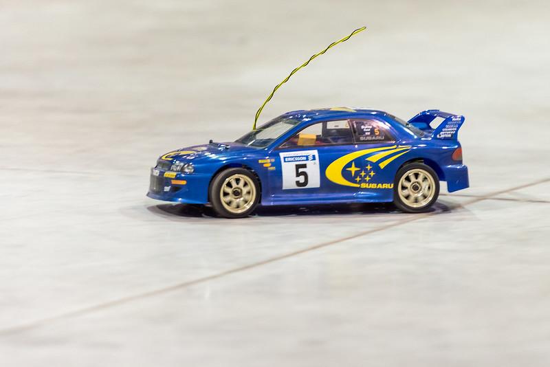 Phil's Impreza WRC now on lipo power.
