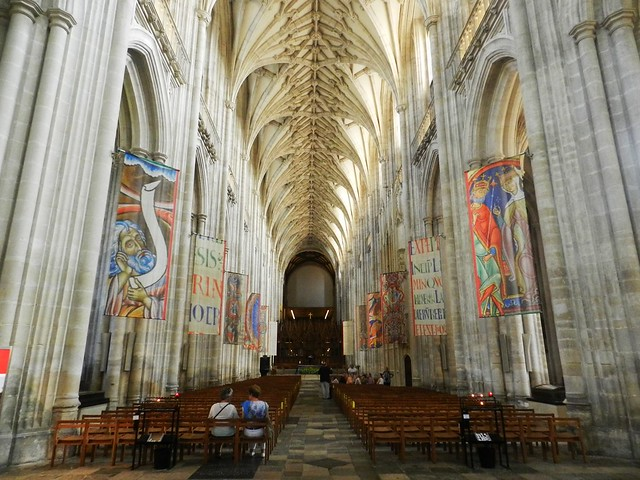 Winchester Cathedral Interior, Winchester, Sep 2016