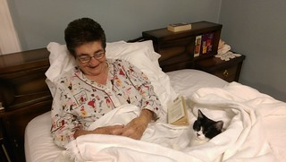 Momma & Normie in Bed 3