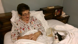 Momma & Normie in Bed 4