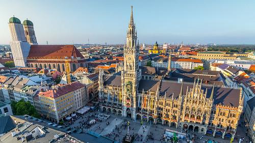 Marienplatz - München   by afrigole