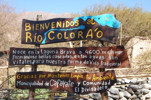 Rio Colorado, Cafayate, Argentina   by blueskylimit