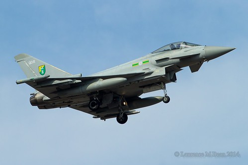Eurofighter Typhoon FGR4, ZJ925/QO-R. | by Janner88
