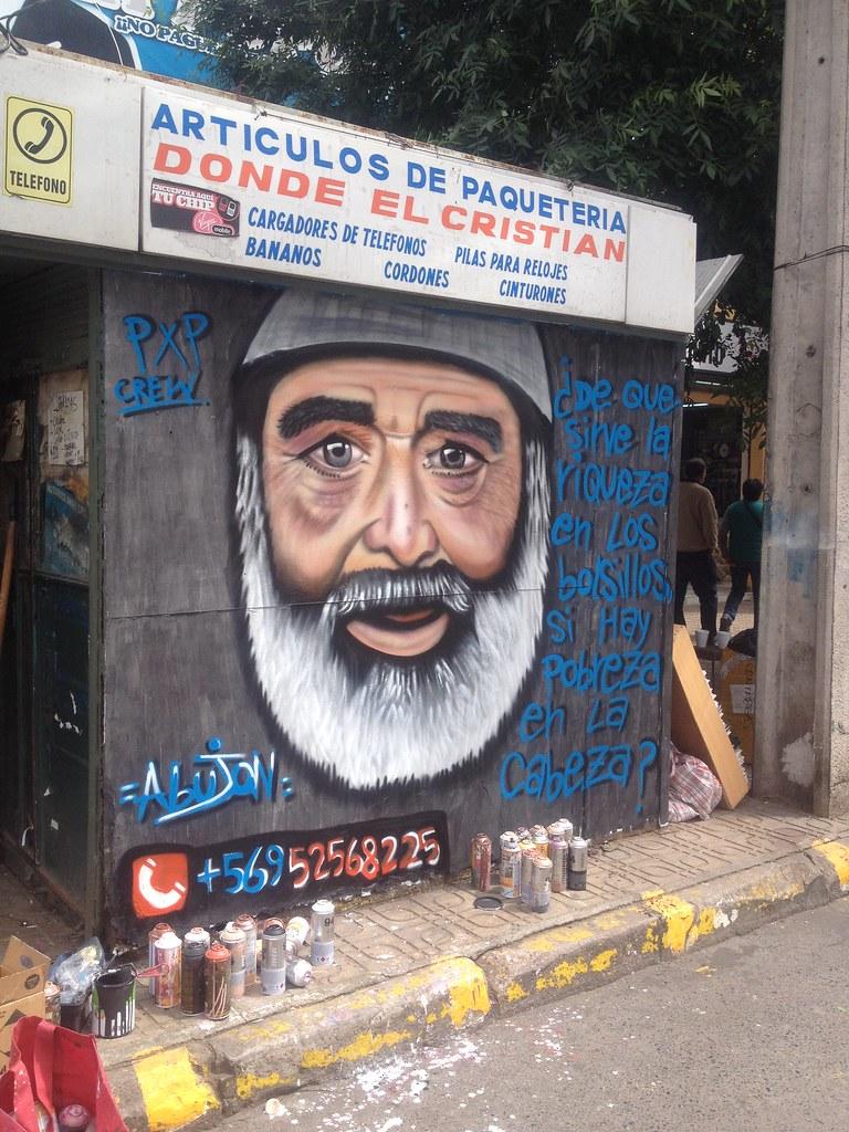 Trabajos Graffitis Vida Patricio Hernan Ibarra Araya