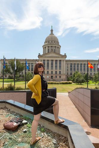 Michelle Conquers Oklahoma