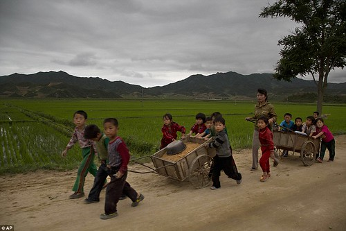 Fixing the road - Child Labor (North Korea, 2014) | by Ysé1(New)