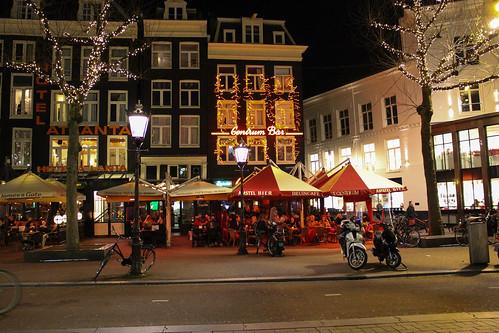 A bar at Rembrandtplein | by designcode87