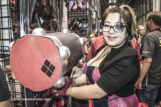 NY Comic Con 2014 Harley Quinn Hammer | by Downtown Traveler