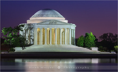 city sunset statue canon photography washingtondc town memorial cityscape thomas capitol after jefferson bluehour tidalbasin floydian canoneos1dsmarkiii henkmeijer