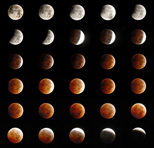 Total Lunar Eclipse of October 8, 2014