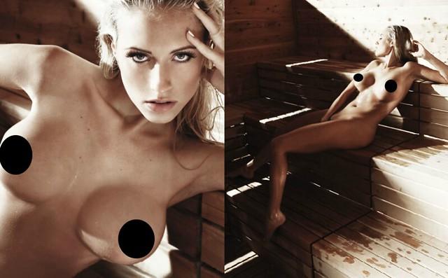 Nude alena gerber Gorgeous German