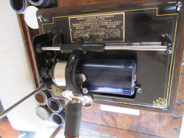 Antique Phonograph Display
