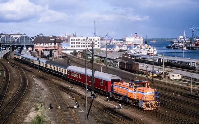 VKP V 154 at Kiel Hbf