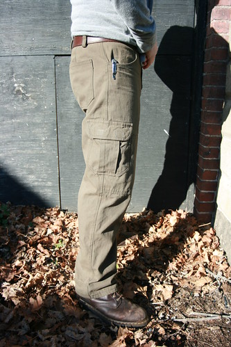 Thread Theory Jutland Pants in Brown/Green English Canvas | by patternandbranch