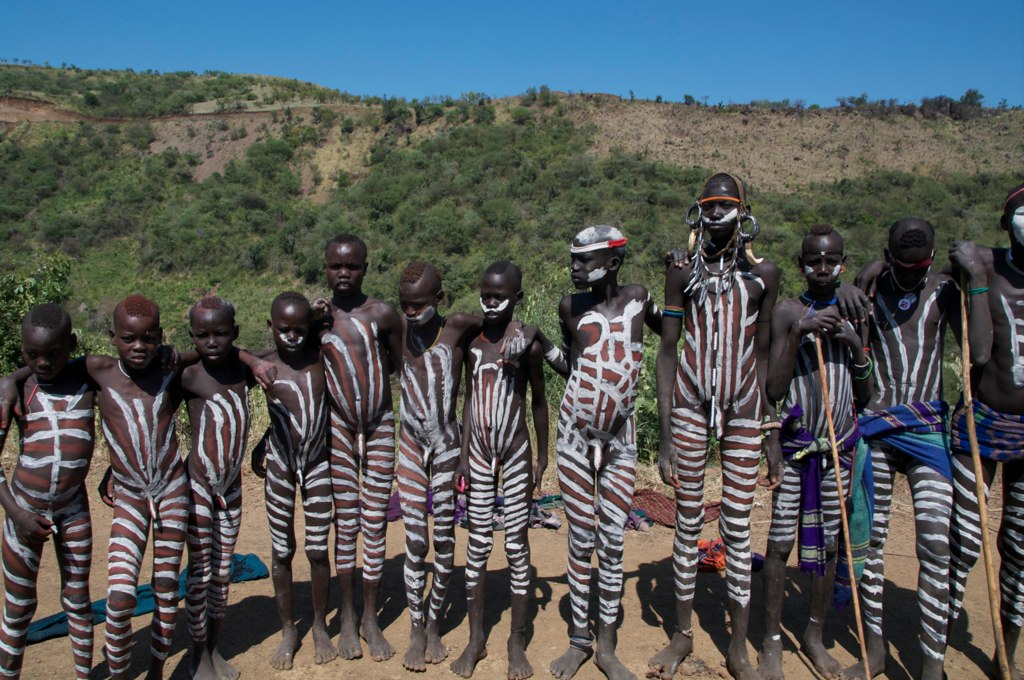 Mursi tribe and interesting Traditions - Etihopia - YouTube
