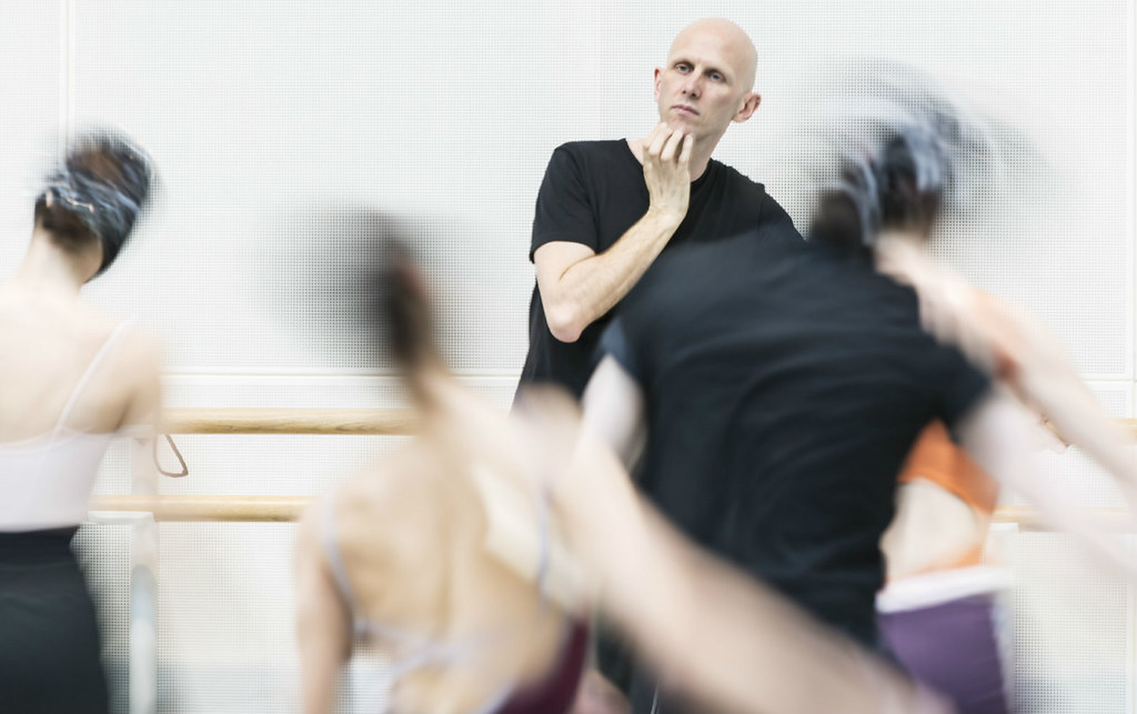 Wayne McGregor in rehearsals © ROH/Johan Persson, 2013