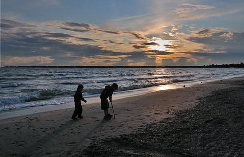 sunset ontario canada lakeerie dsc9366