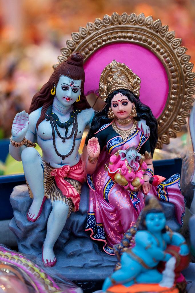 Shiva Parvati - Navarathri Golu Dolls