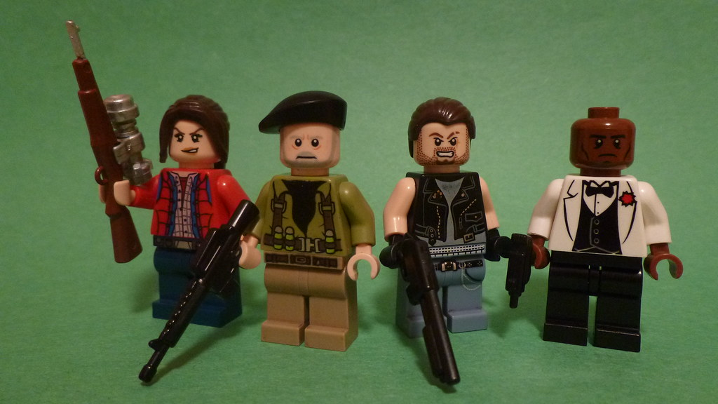 Lego Left 4 Dead | Continuing my theme of games made by Valv… | Flickr