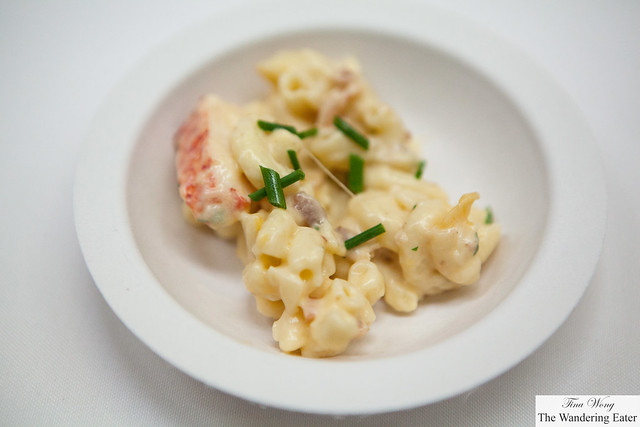 Lobster bacon mac & cheese from Christos Steakhouse