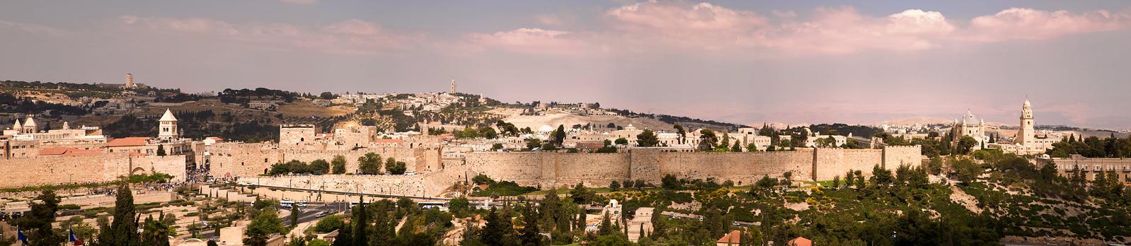 Panorama2_Jerusalem, panoramic view_Noam Chen_IMOT