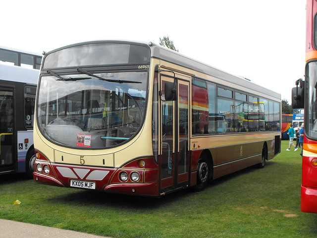 66965, Volvo B7RLE, KX05 MJF @ Showbus 2014