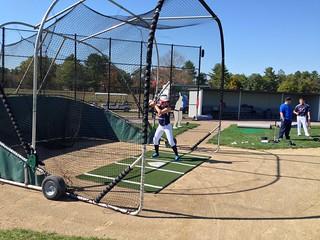 Softball Hitter Inside A Big Bubba