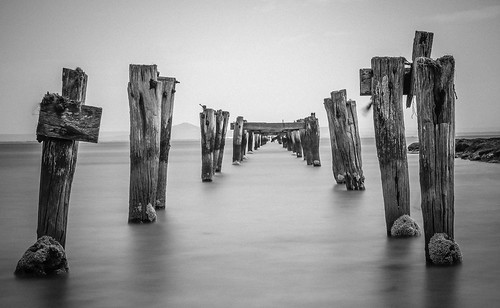 Jetty remnants